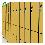 Two Tier Compact Laminate Gym Lockers with Num Lock