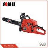 2-Stroke Gasoline Chain Saw in Garden Machine