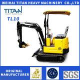 Titan Ce Cheap Chinese 1 Ton Garden Small Mini Excavator