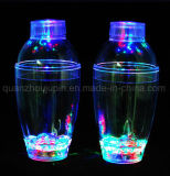 OEM Hot Sale Bar Plastic Transparent LED Cocktail Shaker