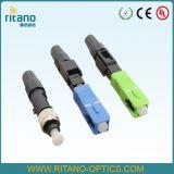 Fiber Cable Optical Connector of FTTX Solution Sc/APC/LC/APC/FC/APC 0.2dB