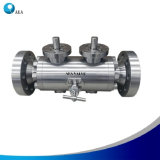 Stainless Steel Integral Body Flange Double Block and Bleed Ball Valve