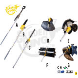 4 In1 Multifunctional Brush Cutter/Pole Saw