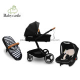 3 in 1 600d 4 Big Wheel Baby Stroller with En1888, ASTM F833