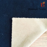 Solid Color Polyester Suede Bonded with Polar Fleece for Garment
