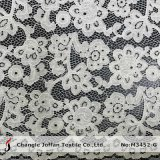 Cotton Lace Embroidery Cord Lace Fabric for Dresses (M3452-G)
