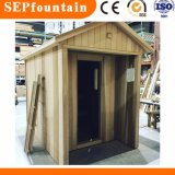 Corner Indoor Steam Sauna Room