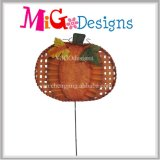 Harvest Metal Pumpkin New Arrival Garden Stake