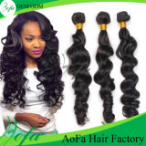 Guangzhou Aofa 7A Grade Body Wave Brazilian Human Hair Weft Virgin Hair Extension