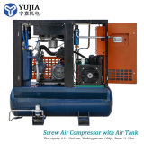Wholesale Tank Mounted Belt Driven Rotary Screw Air Compressor