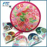Nylon Portable Folding Fan Frisbee Fan Flying Disk Creative Party Gift