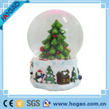 Personalised Snow Globe Christmas Tree Decoration