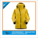 High Quality Windproof Lady's Hoody Ski-Jacket