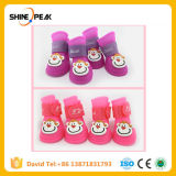 2018 New Arrival 4 Piece/Lot Best Pet Dog Shoes for Small Medium S-L Pet Product Dog Rain Boots Wear Summer Waterproof Chihuahua