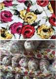 100% Polyester Spandex Printed Knitted Fabric Stoklot