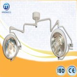 Medical Halogen Lamp /Shadowless Double ceiling Operation Light (XYX-F700/700 Chinese arm ECOA028)