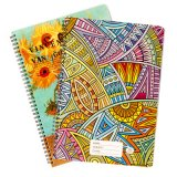 School Student Exercise Paper Spiral Stationery Composition Notebook