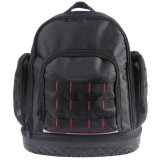 Outdoor Durable Electrician Backpack Tool Bag with Waterproof Molded Base