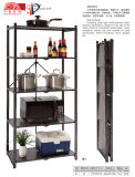 Household Using Kitchen Plating Wire Storage Rack with 5 Layer for Store