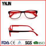 Ynjn Promotion Ce Ladies Red Color Reading Glasses (YJ-RG8421)