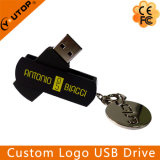 Hot 1-128GB Plastic and Metal Swivel USB Flash Drive (YT-1118)