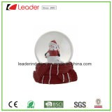 Hand Painted Resin Craft Gifts Water Globe with Snowman for Promotional Gifts and Christmas Decoration