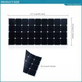 120W Sunpower ETFE Soft Flexible Bendable Solar Panel DC Mobile Power Solar Charger EL Approve