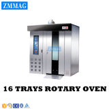Price Gas Baking Loaf Bread Rotary Oven for Bakery (ZMZ-16M)