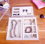 Acrylic Jewelry Storage Box, Drawer Box with Velvet