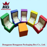Colorful Wooden Jewelry Box