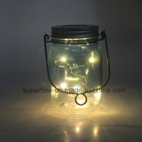 Energy Conservation Rechareable Solar Glittering LED Rice Lights for Home Decoration