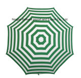 Outdoor Promotion Manual Open Beach Umbrella with PVC Bag