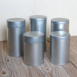 Tin Boxes with Sand Finished Tinplate