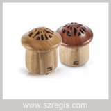 Creative Bamboo Small Mushroom Wireless Bluetooth Speakers