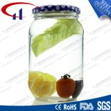 Food Storage High Quanlity Glass Jar with Metal Lid (CHJ8257)