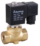 Small Series 2/2-Way Pilot Operated Brass Valve