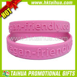 Custom Embossed Silicone Band for Gift (TH-band064)
