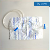 Sterile Disposable Drainage Bag with Cross Valve