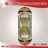 SANYO Mordenized Panoramic Elevator Sightseeing Elevator Observation Glass Lifts
