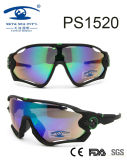 Fashionable Sports Style Frame Plastic Sunglasses (PS1520)