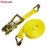 Truck Cargo Polyester Securing Tie Down Winch Strap