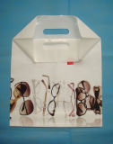 Branded LDPE Die Cut Patch Plastic Bags for Sunglasses (FLD-8532)