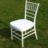 Wedding White Chivari Chair with White Cushion
