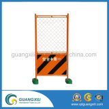 Designed Temporary Fence with Gate 0.9 X 1.8 Green