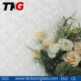 3-8mm Clear Flora Figured Glass