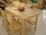 Solid Wooden Dining Table Living Room Furniture (M-X2415)