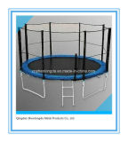 10FT Jumping Kids Outdoor Trampoline with Safety Enclosure