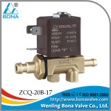 220V Tube Connector Air Solenoid Valve (ZCQ-20B-17)