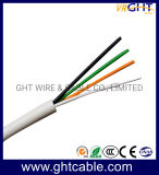 Factory Cheapest Price Rvv Flexible Cable 4 Cores Flexible Electrical Copper Wire