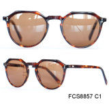 New Ce and FDA Certification Handmade Acetate Men Sunglasses
